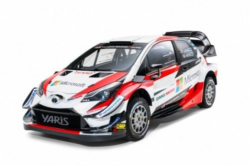 La nuova Toyota Yaris WRC da Rally