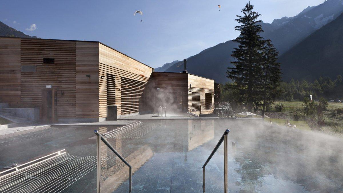 QC Terme Chamonix nel cuore delle Alpi