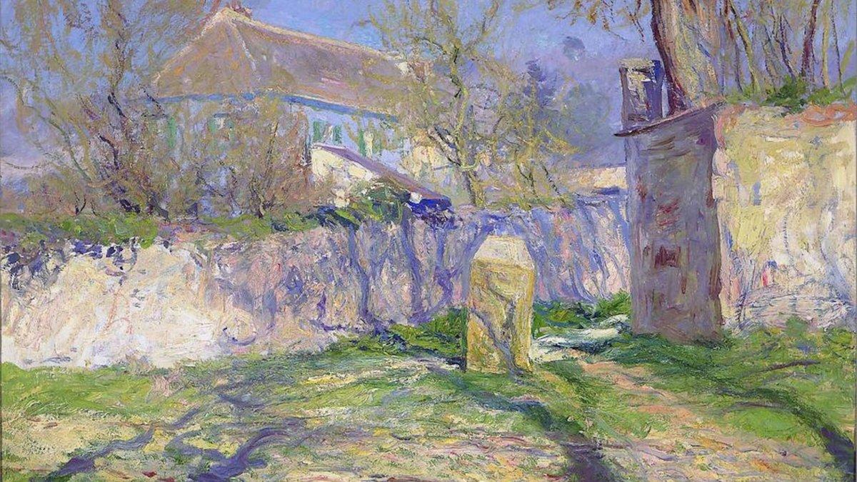 La casa blu di Claude Monet per una vacanza da sogno
