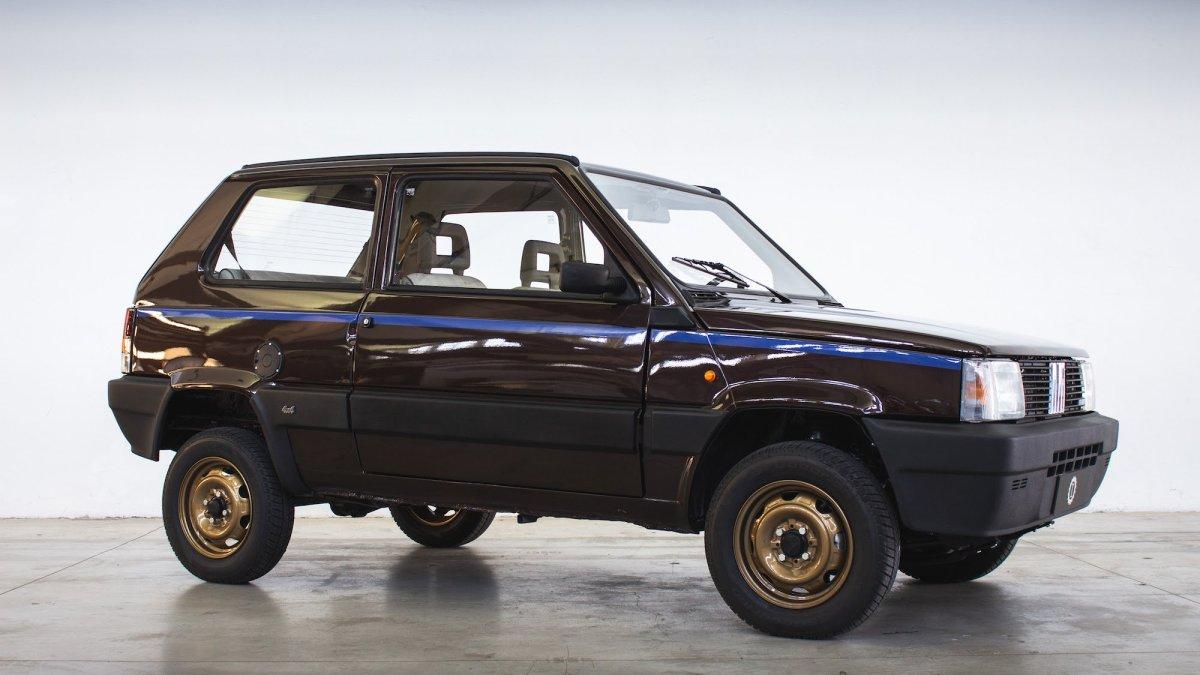 Fiat Panda 4X4 Garage Italia Icon-e: stile e trazione integrale
