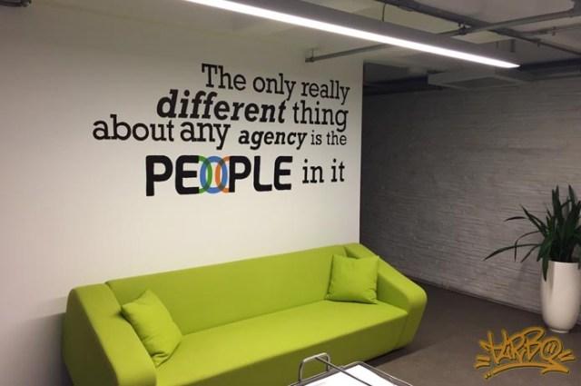 Turbo - People Office Graffiti