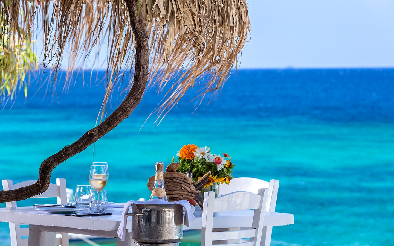 Mykonos Gourmet Restaurant  Hippie Chic Hotel Mykonos