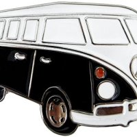 VW Bus Belt Buckle, Hippie Van
