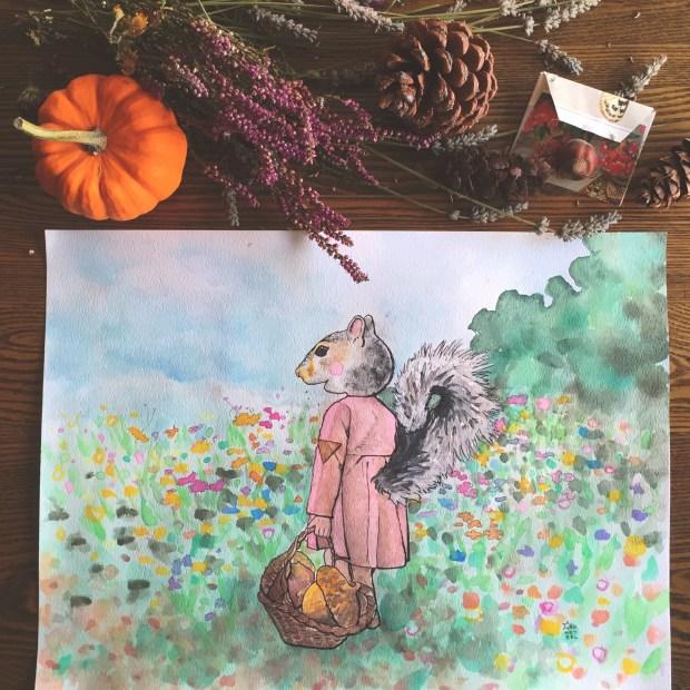 07 Art squirrel