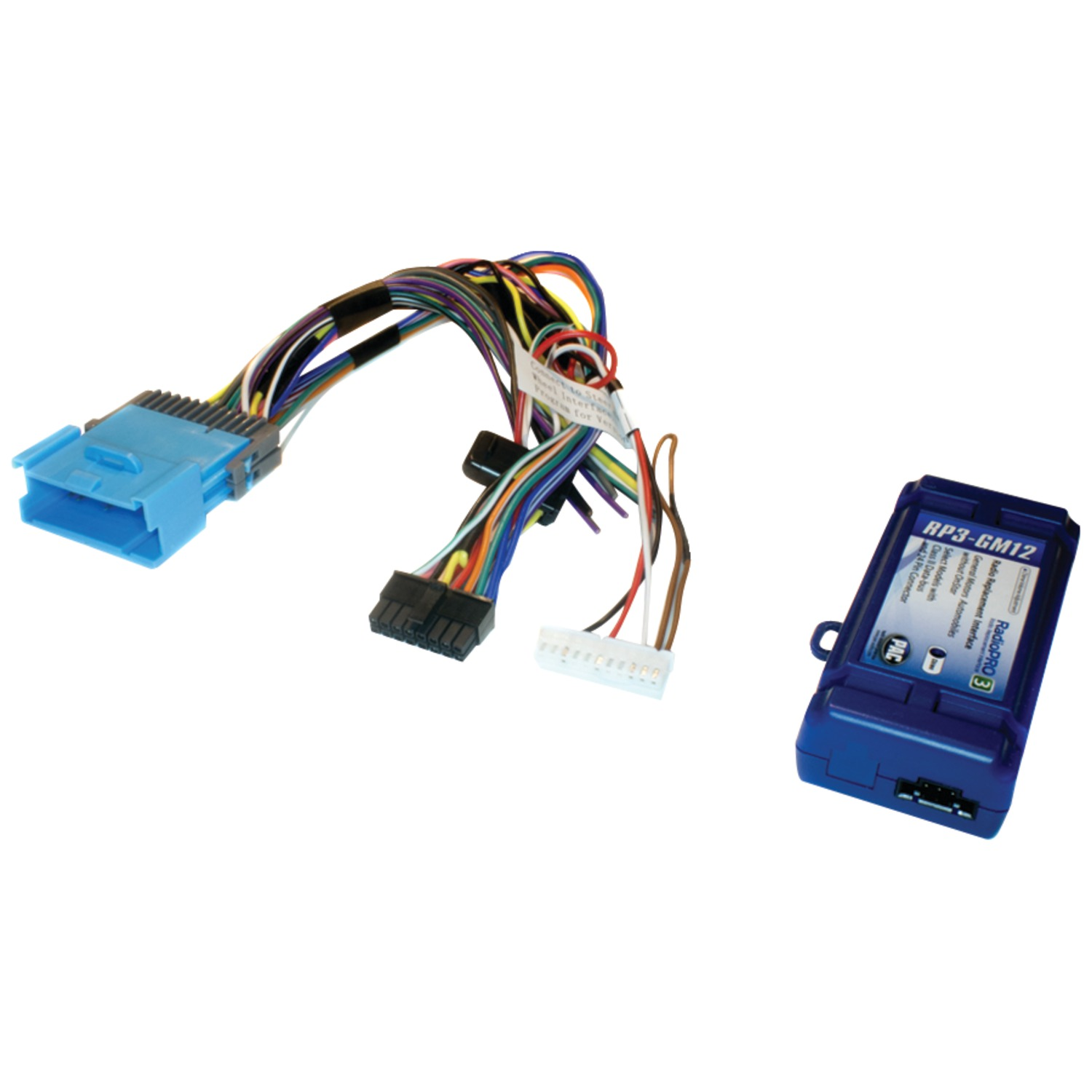 hight resolution of pac rp3 gm12 radio replacement interface for select gm r vehicles class