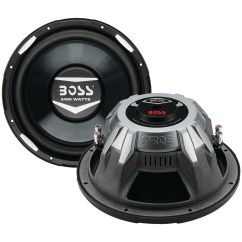 Dual Voice Coil Subwoofer Box Label The Following Diagram Of Respiratory System Boss Audio Ar12d Armor Series