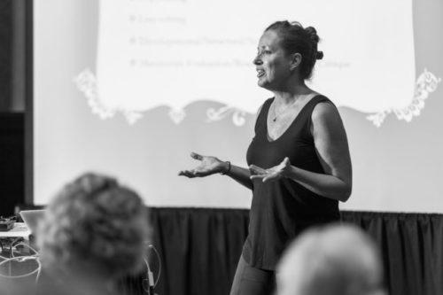Allison Williams speaking at HippoCamp 2016