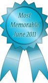 ribbon for most memorable story june 2011