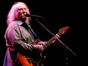 david crosby playing guitar 2010