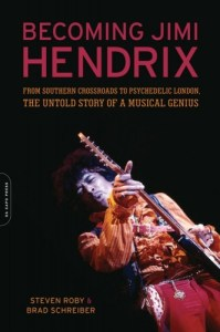 cover of becoming jimi hendrix