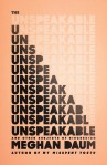 cover unspeakable each line is unspeakable but with one more letter filled in