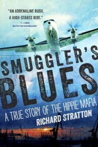cover of smugglers blues plane in sky with title and authors name
