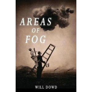 areas of fog cover clouds in sky man with ladder and tools