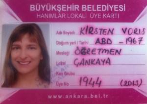 the authors membership ID for the turksish pool club