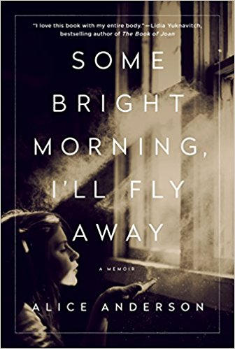 some bright morning I'll fly away cover, young woman with eyes closed facing a window with sun shining in
