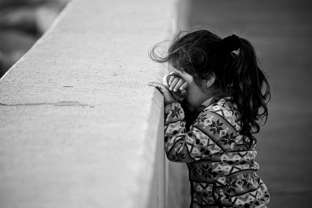 f2e9cc7a84c little girl with head down on wall as if counting for hide and seek game.  Two decades ago my ...