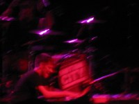 motion city soundtrack drummer - image a little blurry to show motion