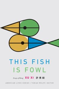 this fish is foul cover - two geometrical shape that look like two fish or one ducj