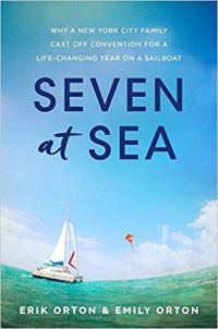 seven-at-sea-cover sailboat in oecan with big sky
