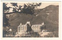 Banff Springs Alberta Canada Hotel Real