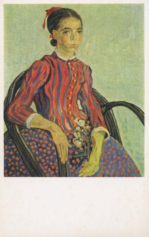 La Mousme Vincent Van Gogh Artist National Of Art