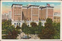 Biltmore Hotel Los Angeles California Hippostcard