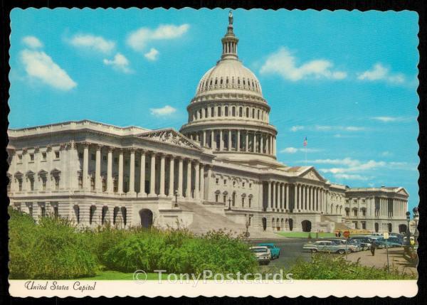 United States Capitol Hippostcard