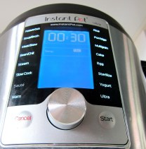 Spin-dial interface - Instant Pot ULTRA
