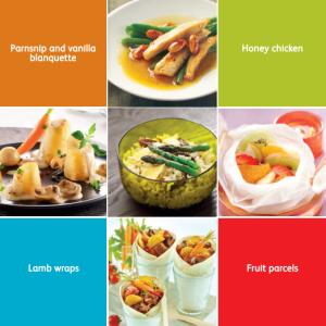 T-Fal Pressure Cooker Recipe Booklet