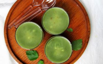 WATCH OUT!! Stinging Nettle Soup (Zuppa di Ortiche)