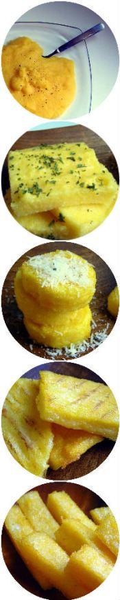 Pressure Cooker Polenta Types