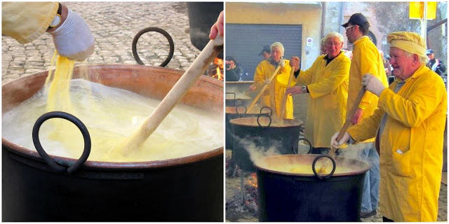 sagra della polenta - festival in italy