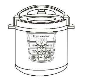 Cook's Essentials Electric Pressure Cooker Manual ⋆ hip