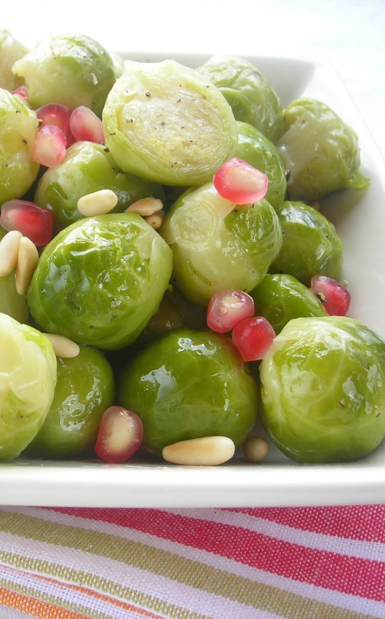 Pressure Cooker Brussels Sprouts Recipe