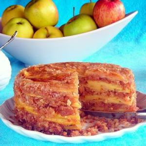 Amazing Caramelized Apple Crumb Cake – Lesson 8 – Bain Marie or Water Bath