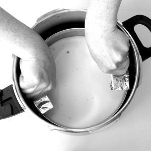 """Pressure Cooker Foil Sling also called """"Helper Handles"""""""