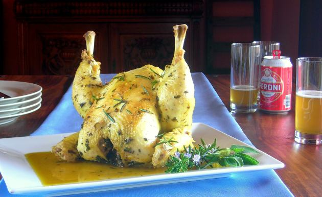 Whole Pressure Cooked Chicken Recipe
