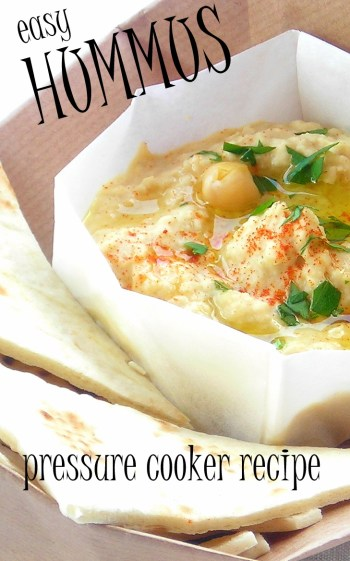 Easy Pressure Cooker Hummus - Videorecipe for Instant Pot or Mealthy Multipot