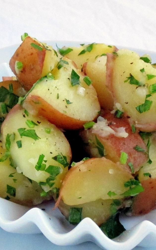 Pressure Cooker Potato Salad Recipe - Italian Style!