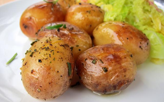 Pressure Cooker Roasted Potatoes