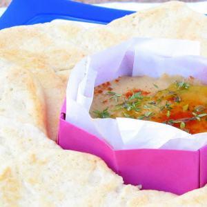 Bessara – Pressure Cooked Moroccan Fava Bean Dip