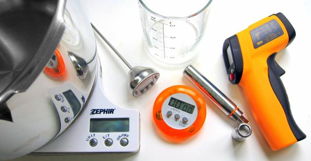 tools for measuring pressure cooker performance