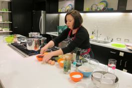 WMF Pressure Cooker Demonstration - setting-up and testing the equipment