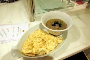 Pressure Cooked Eggplant and Black Olive Dip