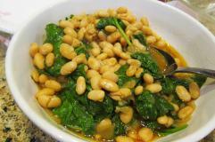 Canellini bean salad