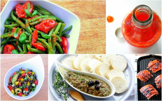 summer pressure cooker recipes collage