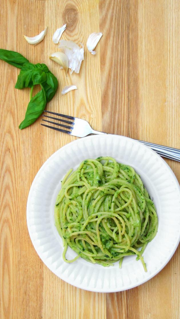 Zucchini Pesto Pressure Cooker Recipe