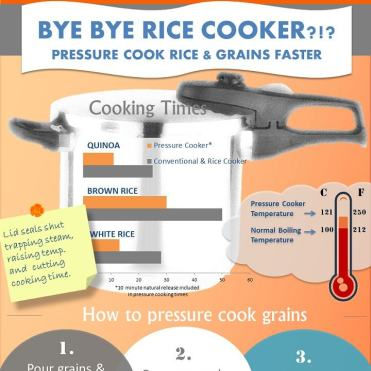 how to cook rice in pressure cooker xl