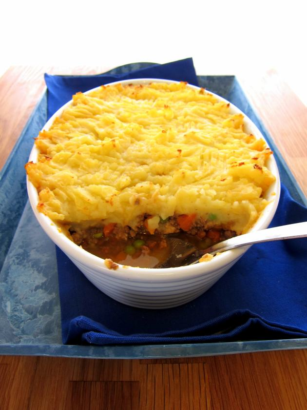 Comfy Cottage Pie - made faster in the pressure cooker!