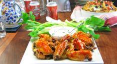 Pressure Cooker Chicken Wings Recipe - Buffalo Style!